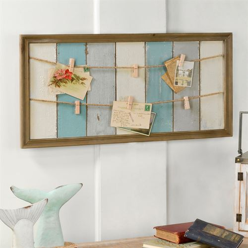 Haide Note and Photo Board Blue