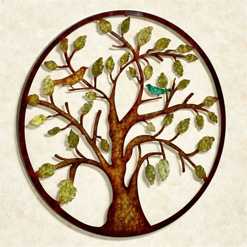 Morning Melodies Tree Wall Art Multi Earth