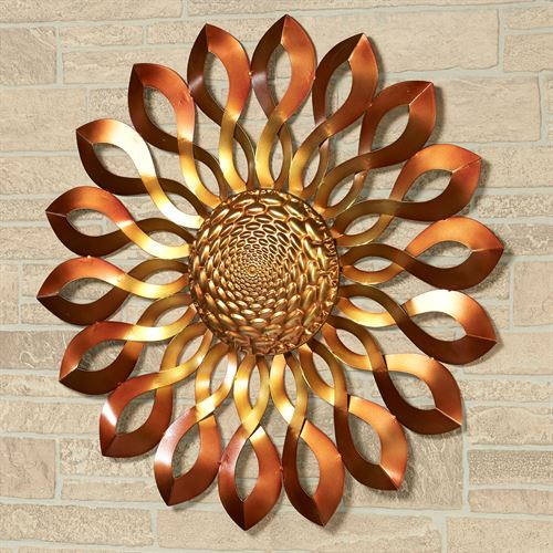Infinity Sun Wall Art Bronze