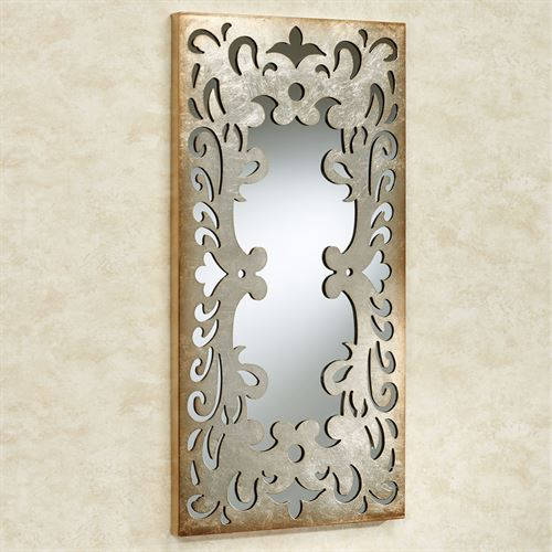 Destiny Mirrored Wall Art Platinum