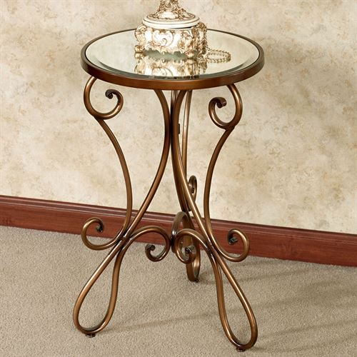 Domezio Accent Table Bronze