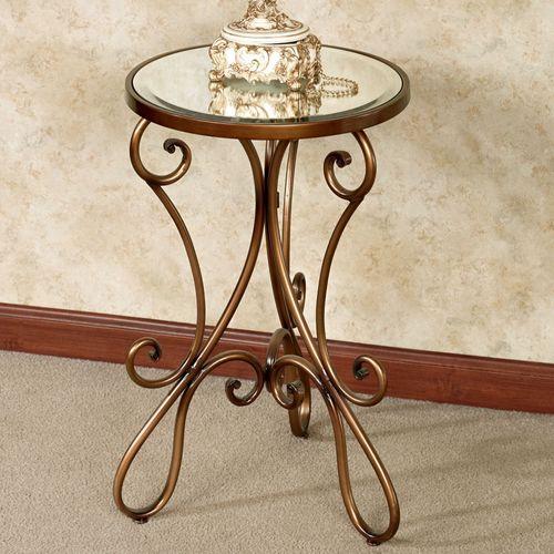 Domezio Accent Table Bronze