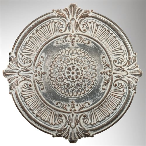 Medallion Wall Art Antique White