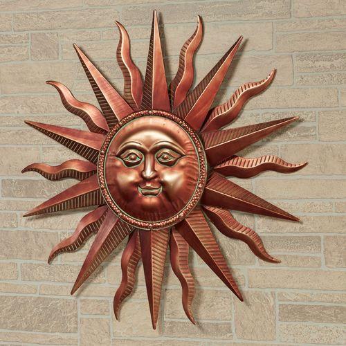 Sun Indoor Outdoor Metal Wall Art Sculpture