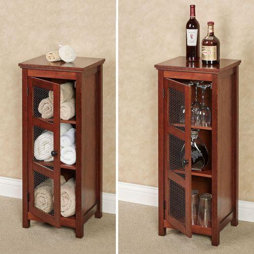 Alston Storage Cabinet Natural Cherry