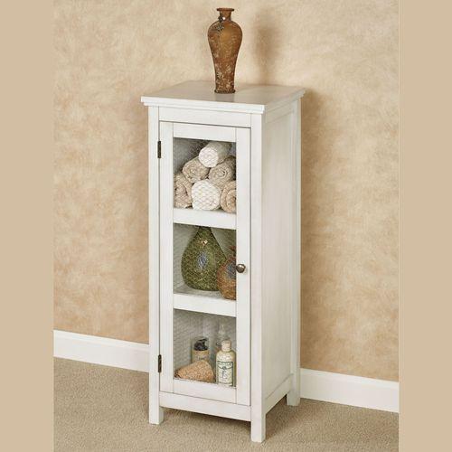 Alston Storage Cabinet Whitewash
