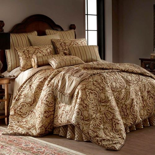 Botticelli II Mini Comforter Set Brown