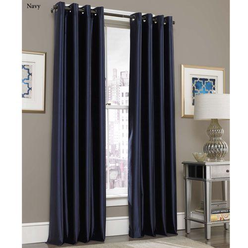 Glisten Grommet Curtain Panel