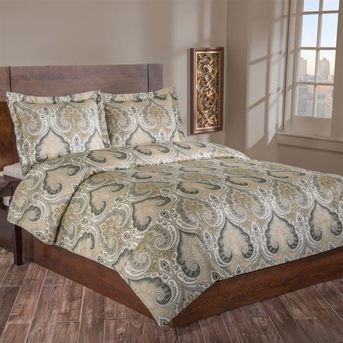 Milano Medallion Duvet Cover Set