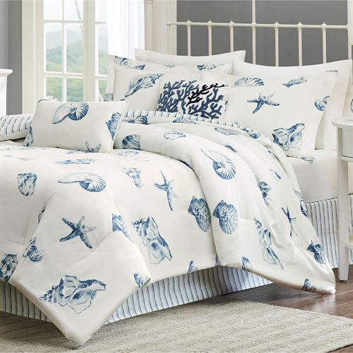 Beach House Comforter Set Ivory