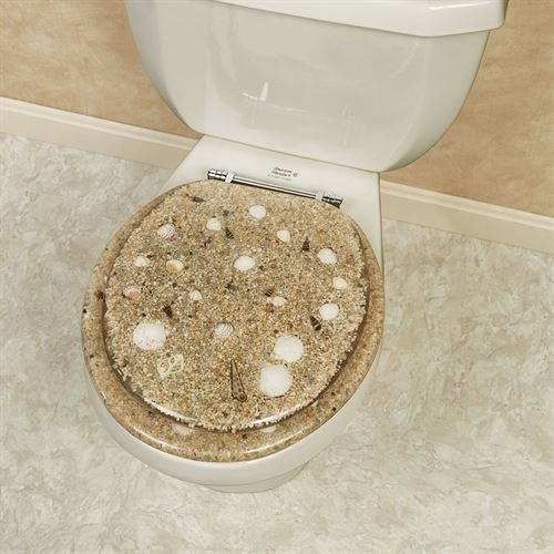Sea Isle Toilet Seat Brown