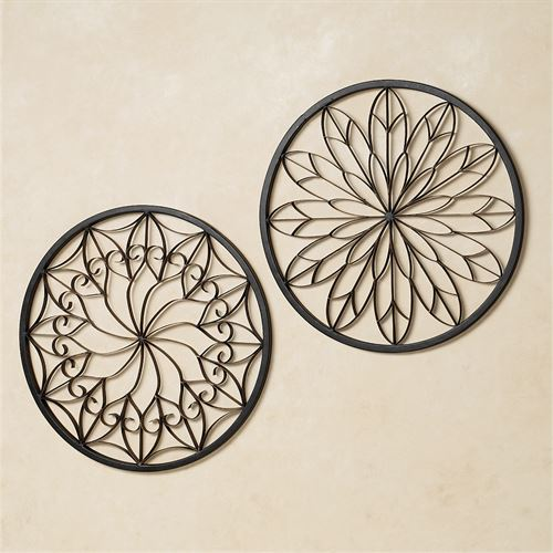 Resplendent Wall Grille Set Bronze Set of Two