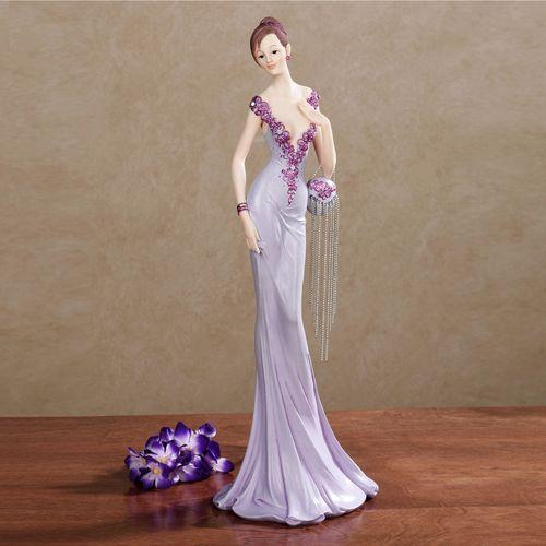 Belle of the Ball Figurine Purple