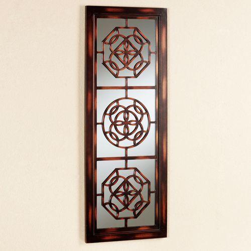 Artemisa Mirrored Wall Panel Brown