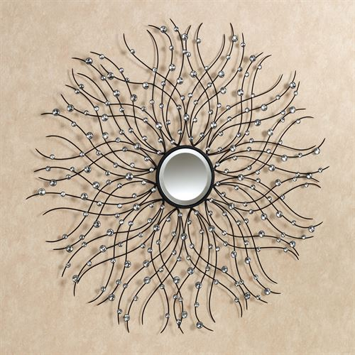 Jewel Drops Wall Sculpture Clear
