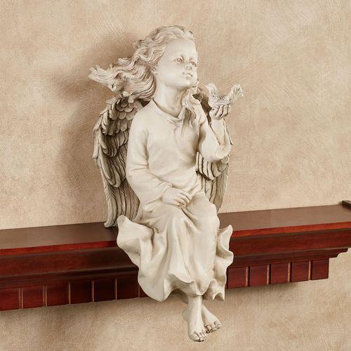 Angel Shelf Sitter Cream