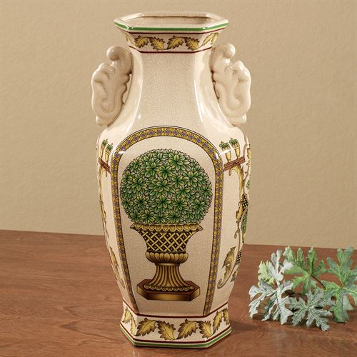 Topiary Table Vase Almond