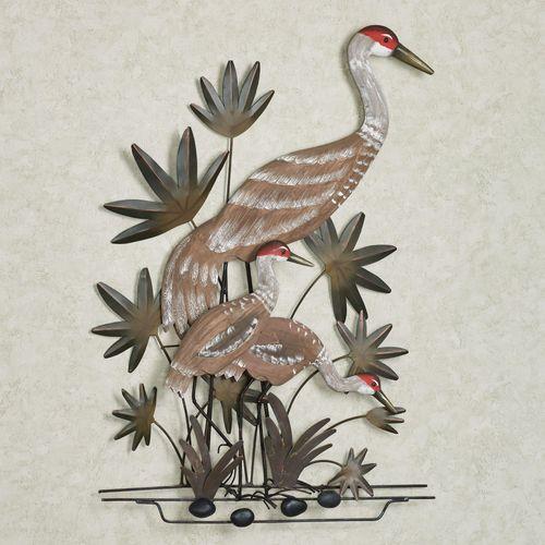 Sandhill Cranes Wall Art Multi Earth