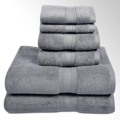 Aertex Bath Towel Set Six Piece Set