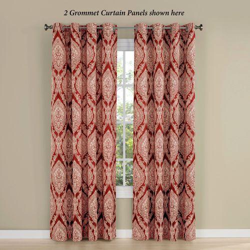 Wilder Grommet Curtain Panel Ember Glow 56 x 84