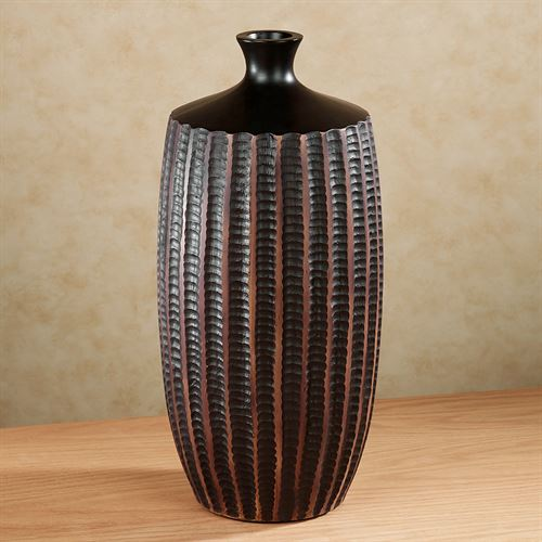Kaison Table Vase Espresso