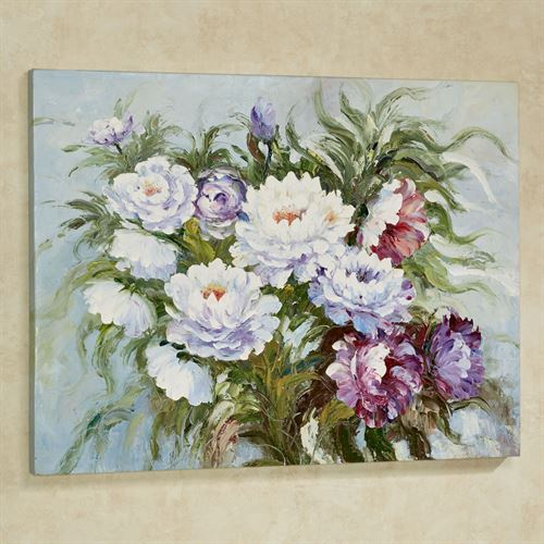 Lavender Bouquet Canvas Wall Art Multi Cool