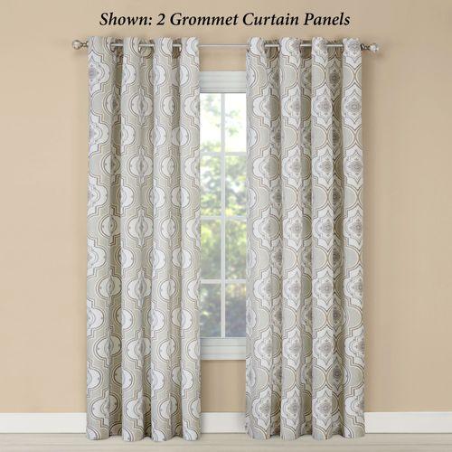 Natashya Grommet Curtain Panel Linen 52 x 84