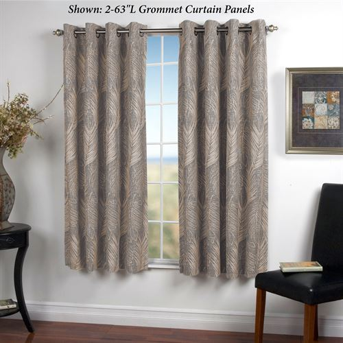 Benito Grommet Curtain Panel Light Taupe