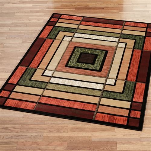 Ambience Rectangle Rug Terra Cotta