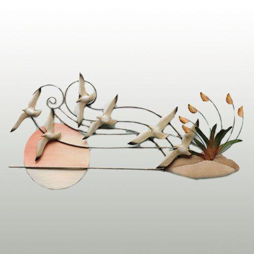 Sea Gulls Wall Sculpture