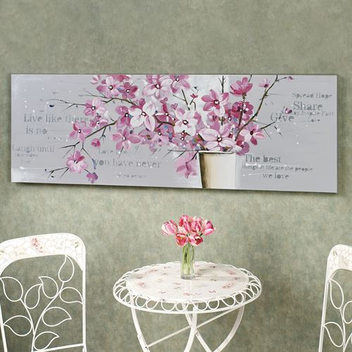 Exquisite Blooms Canvas Art Rose Pink