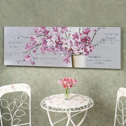 Exquisite Blooms Canvas Art Rose Pink