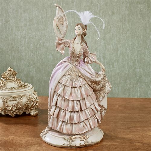 Sunny Afternoon Lady Figurine Pink