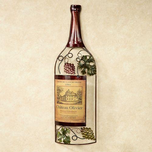 Vineyards Finest Wine Wall Art Brown
