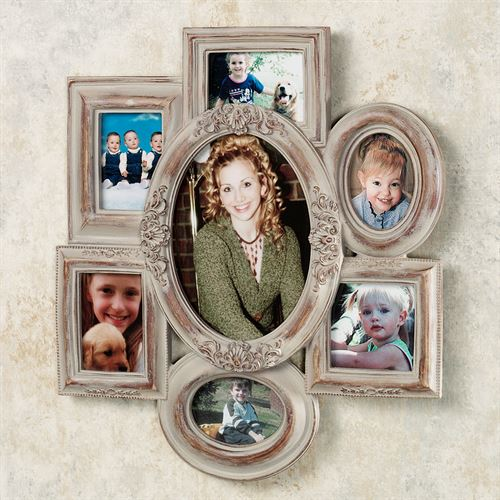 Collage Wall Photo Frame Dark Beige