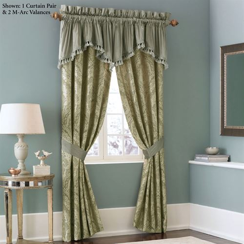 Distinction Tailored Curtain Pair Gold 82 x 84