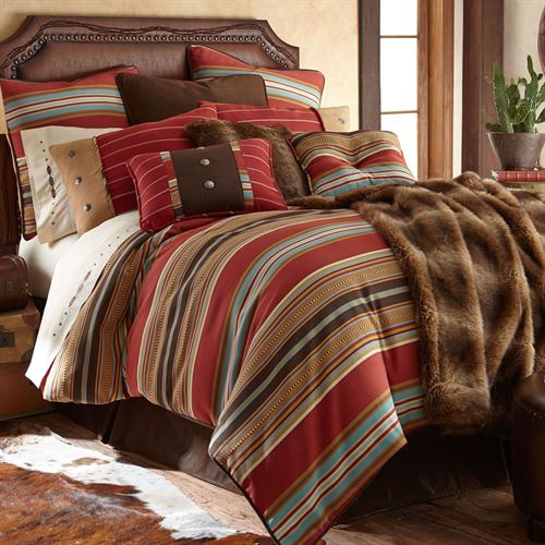 Calhoun Comforter Bed Set Multi Warm