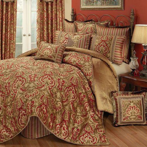 Botticelli Comforter Set Antique Gold