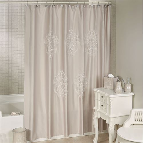 Regal Shower Curtain Beige 70 X 72