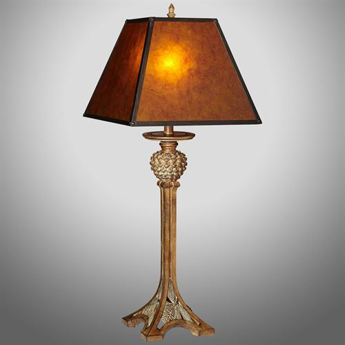 Hudson Table Lamp Weathered Bronze