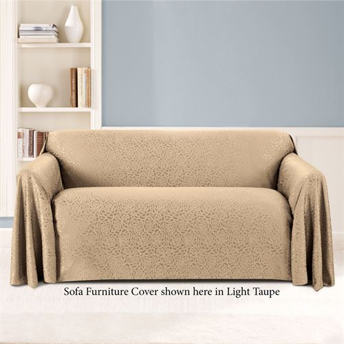 rosanna jacquard rose drapable furniture covers rh touchofclass com sofa furniture cover sofa chair covers amazon