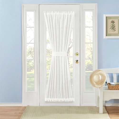 Montauk Semi Sheer Door Panel