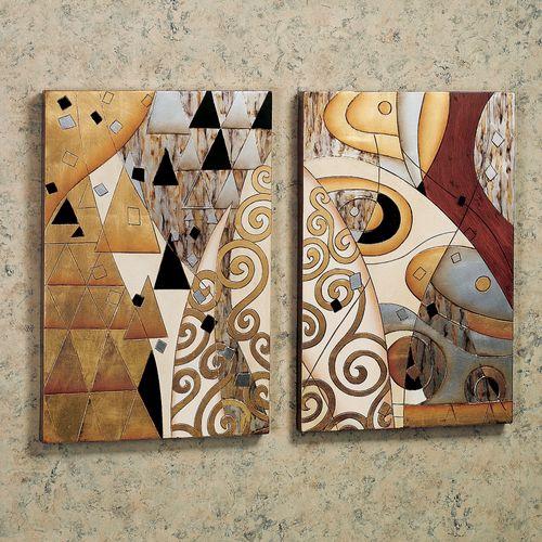 Geometric Celebration Set  Set of Two