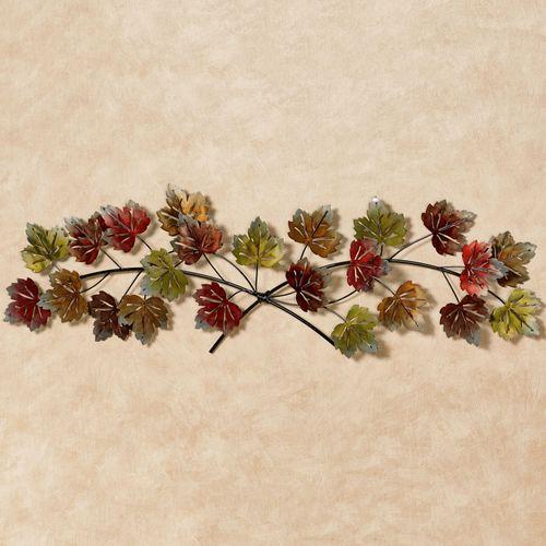 Falling Leaves Wall Topper Multi Earth