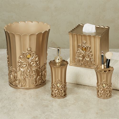 Opulence Lotion Soap Dispenser Champagne Gold