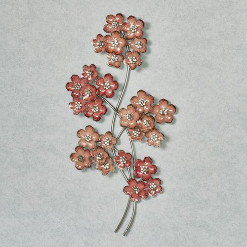 Summer Bouquet Floral Wall Art Pink