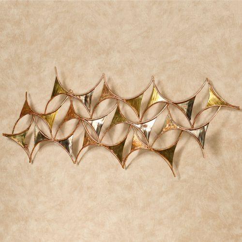 Instance Wall Sculpture Multi Metallic