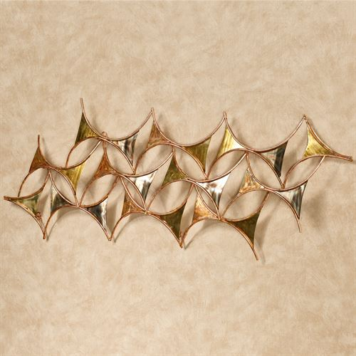 Instance Wall Sculpture Multi Metallic