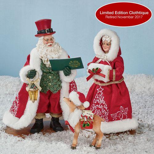A Merry Christmas Clothtique Red Three Piece Set