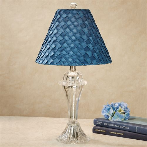 Kimiko Table Lamp Sapphire Each with LED Bulb